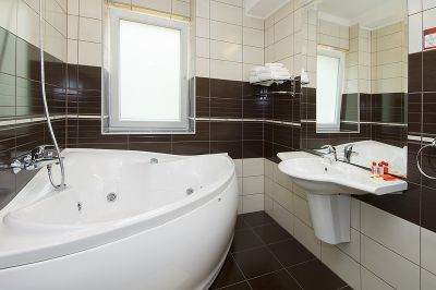 Business Double Room bathroom