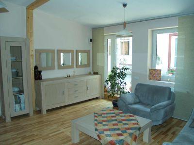 Wohnzimmer vom  Ferienhaus Casa Romanita Haus 1.